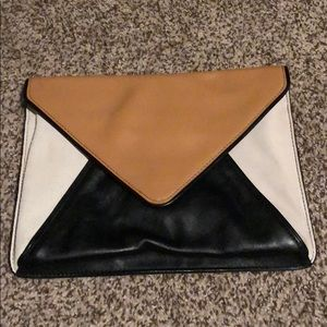 Banana Republic envelope clutch